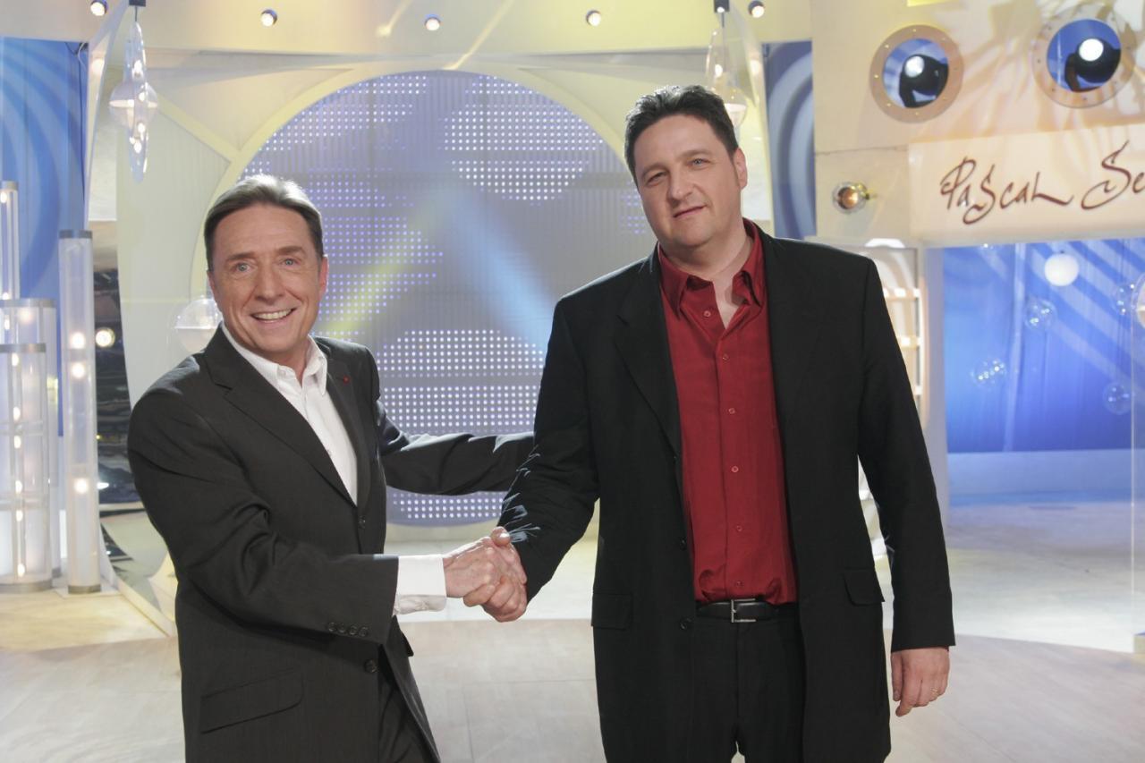 A la télévision avec Pascal Sevran © Jean Pimentel - France 2