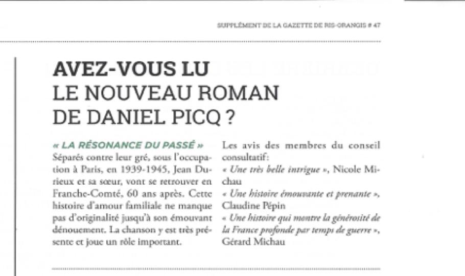 Article gazette