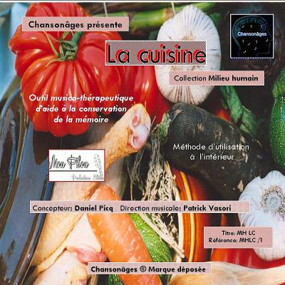 Jaquette face cd la cuisine