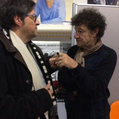 En spectacle avec Robert Charlebois Chez notre production commune Robin Production