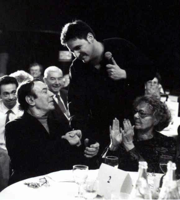 En spectacle avecx Georges Guetary et Paulette Dubost