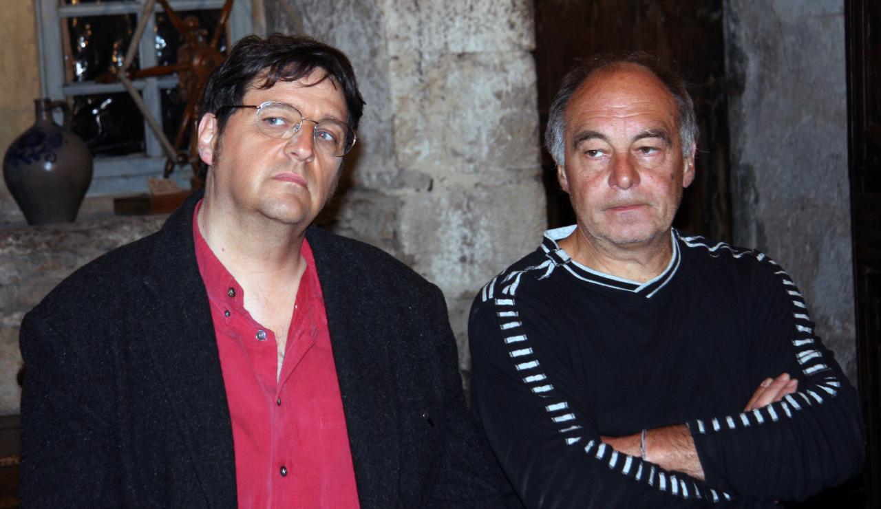 En tournage avec Gérard Marchadier