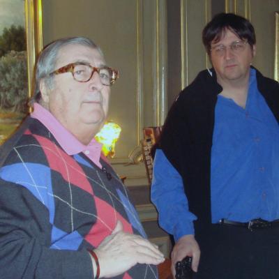 En tournage avec Henri Tisot