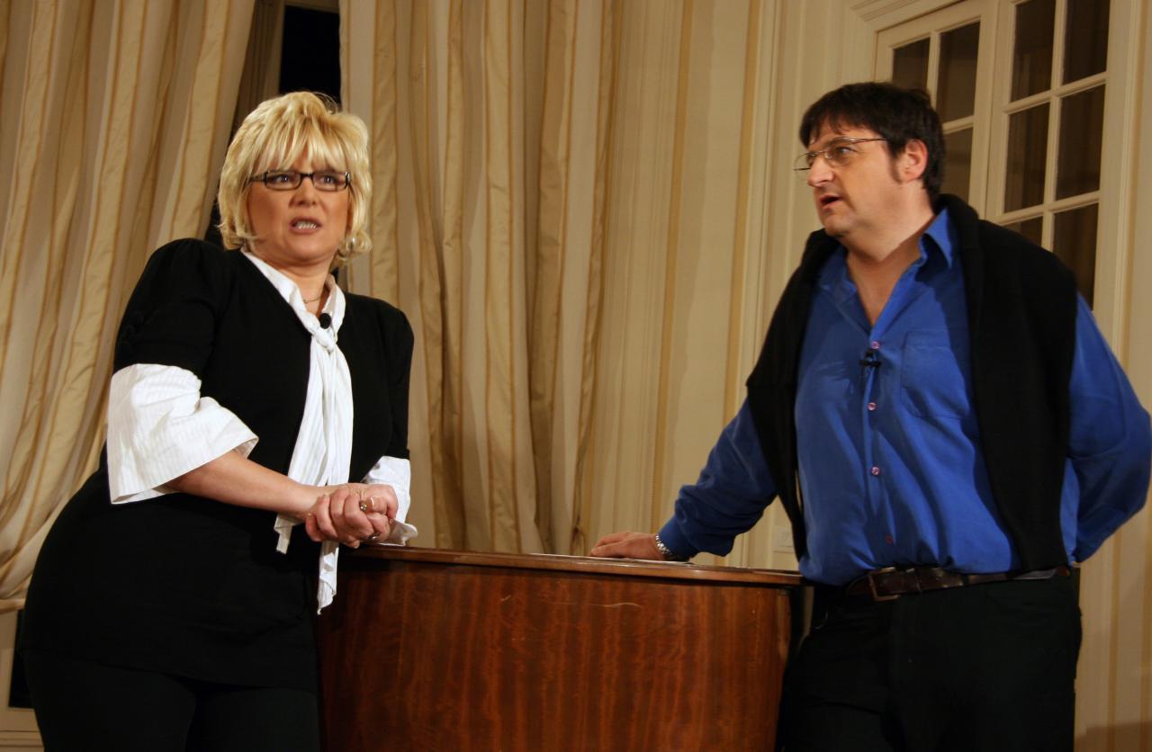 En tournage avec Marie Miryam