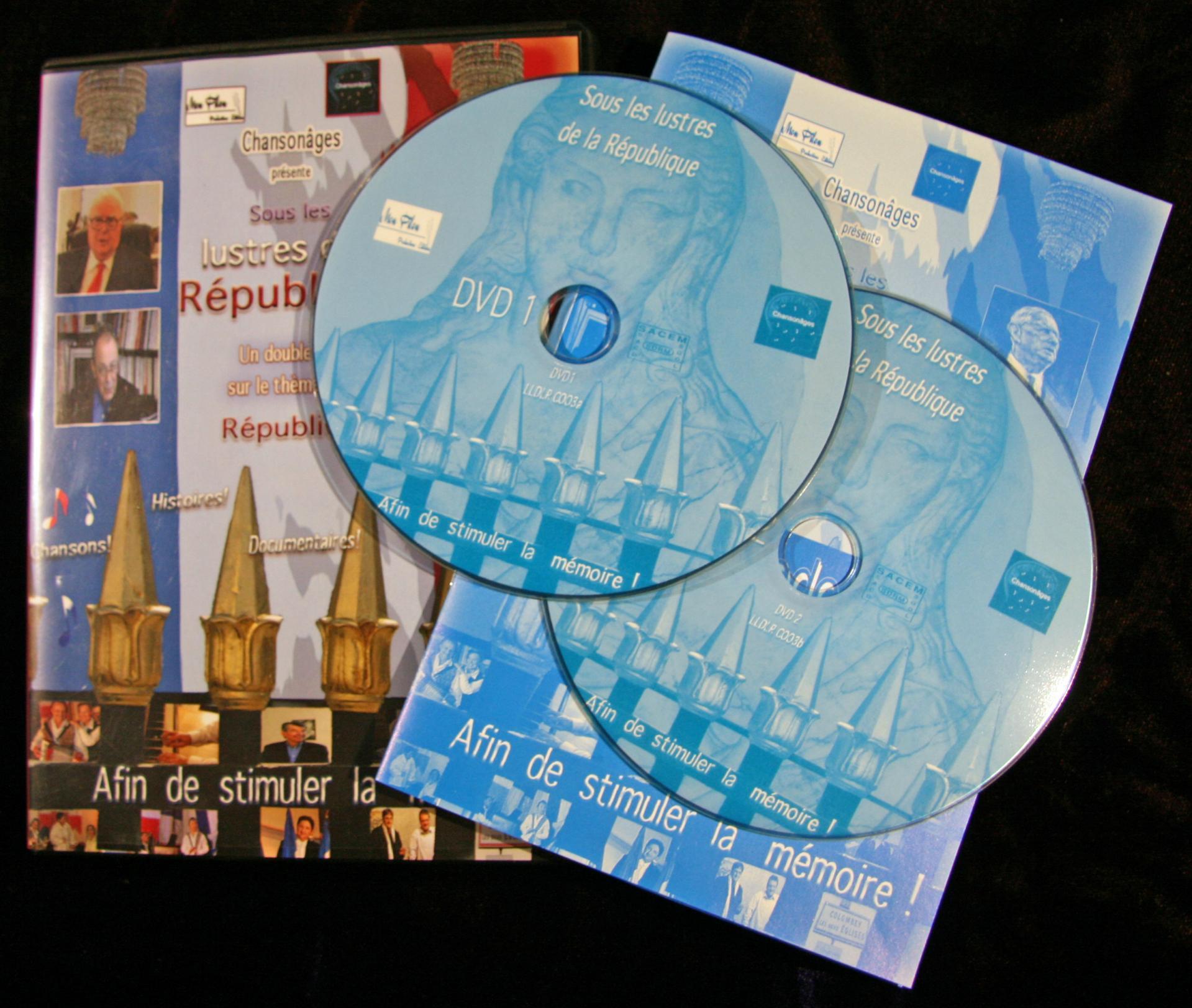 5 dvd les lustres pour catalogue