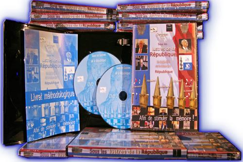 8 dvd ouvert les lustres pour le net